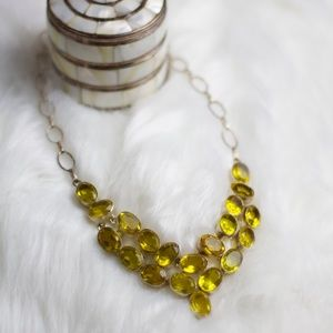 Chartreuse V Necklace